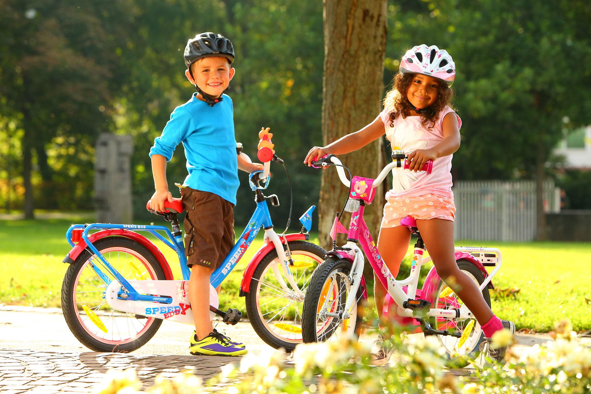 stor teknik til små cyklister